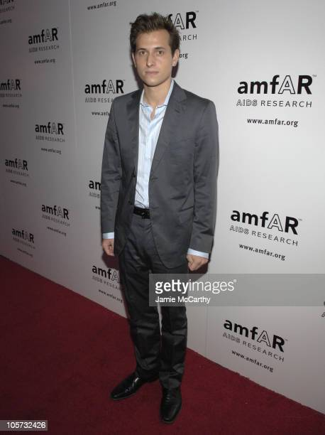 Peter Cincotti during 14th Annual amfAR Rocks Benefit at Tavern on The Green at Tavern on The Green in New York City New York United States