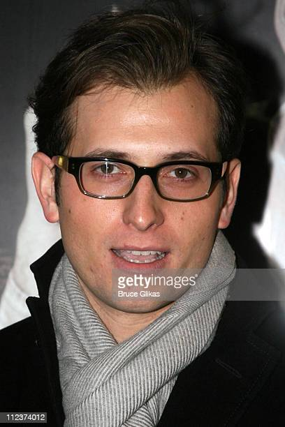 Peter Cincotti during 'A Moon for the Misbegotten' Broadway Opening Arrivals at The Brooks Atkinson Theatre in New York City New York United States
