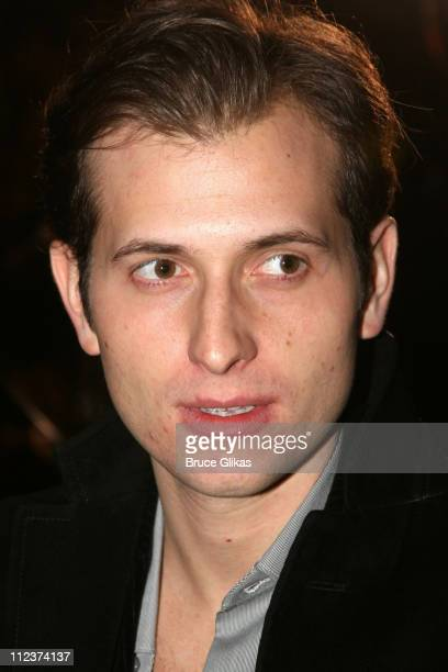 Peter Cincotti during 'A Moon for the Misbegotten' Opening Night After Party at 230 5th Avenue Party Space in New York New York United States