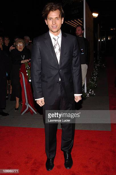 Peter Cincotti during Beyond The Sea New York Premiere Arrivals at Ziegfield Theater in New York City New York United States