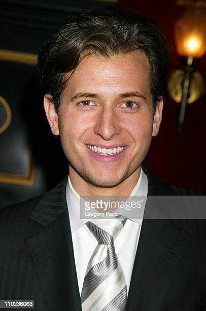 Peter Cincotti during 'Beyond The Sea' New York Premiere Arrivals at Ziegfield Theater in New York City New York United States