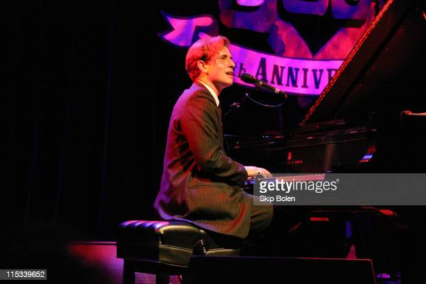 Peter Cincotti during Jazz Pianist Peter Cincotti Performing at House of Blues September 14 2003 at House of Blues in Los Angeles California United...