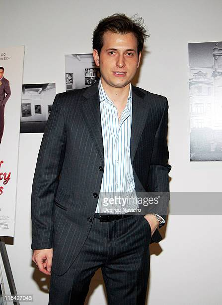 Peter Cincotti during 'Kinky Boots' New York City Premiere Arrivals at MOMA Titus II Theater in New York City New York United States