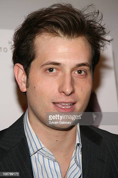 Peter Cincotti during Miramax Films 'Kinky Boots' New York Premiere Arrivals at MOMA Titus II Theater in New York City New York United States