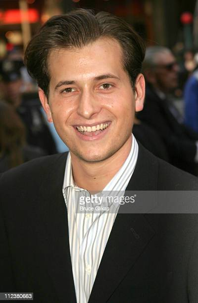 Peter Cincotti during Opening Night Of A R Rahman's Hit Musical 'Bombay Dreams' Arrivals and Curtain Call at Broadway Theater in New York United...