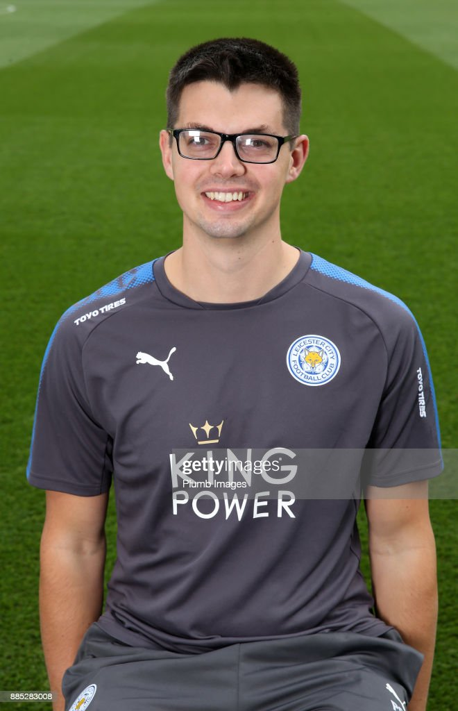 Peter Clark - First Team Performance Analyst during the Leicester City Official Team Group on November 1 , 2017 in Leicester, United Kingdom.