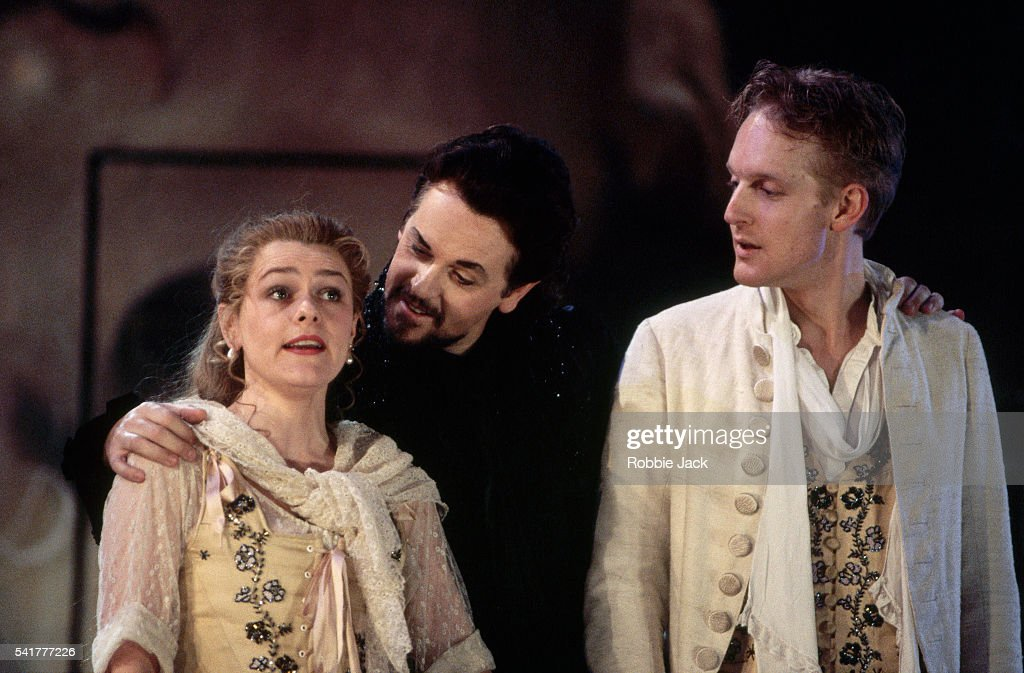 Scene From Don Giovanni : News Photo
