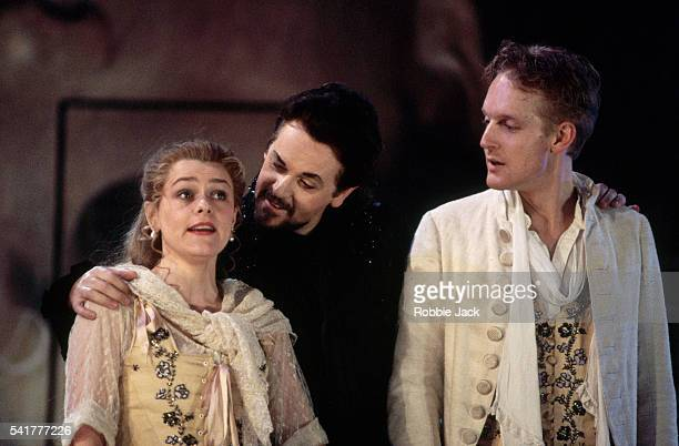 Peter ColemanWright Nerys Jones and Ashley Thorburn appear in an English National Opera production of the Don Giovanni March 1995