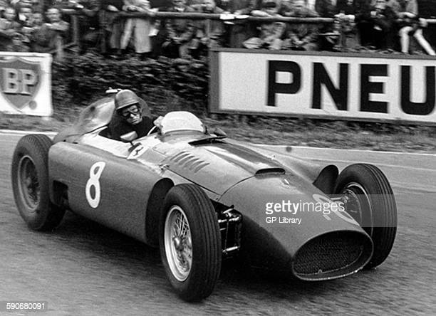 Lancia automobiles spa stock photos and pictures getty images peter collins driving a lancia ferrari winning belgian gp at spa 1956 publicscrutiny Images