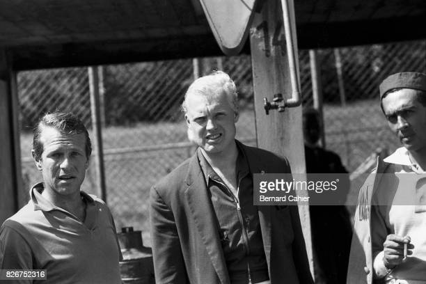 Peter Collins Mike Hawthorn Luigi Musso Grand Prix of Germany Nurburgring 04 August 1957
