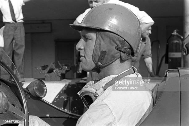 Peter Collins, Vanwall Special, Grand Prix of Italy, Autodromo Nazionale Monza, 05 September 1954. Peter Collins at the wheel of the very first...