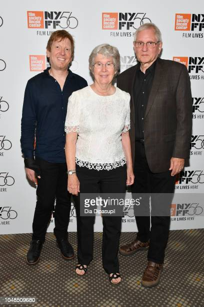 Peter Conheim Judy Miller and Franklin Miller attends the 56th New York Film Festival Spring Night Summer Night premiere at Francesca Beale Theater...