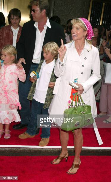 Peter Cook and Christie Brinkley with their daughter Sailor and son Jack