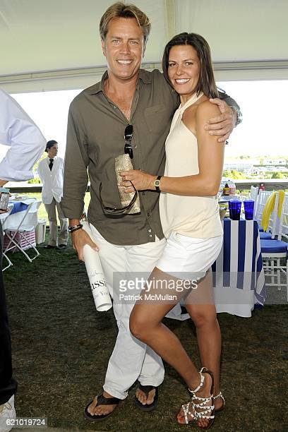 Peter Cook and Susan Shaw attend SYBIL and DAVID YURMAN Host A Luncheon For GRAND PRIX SUNDAY at THE HAMPTON CLASSIC at Bridgehampton on August 31...