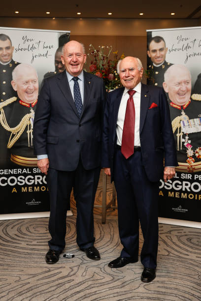 AUS: 'You Shouldn't Have Joined' General Sir Peter Cosgrove Book Launch