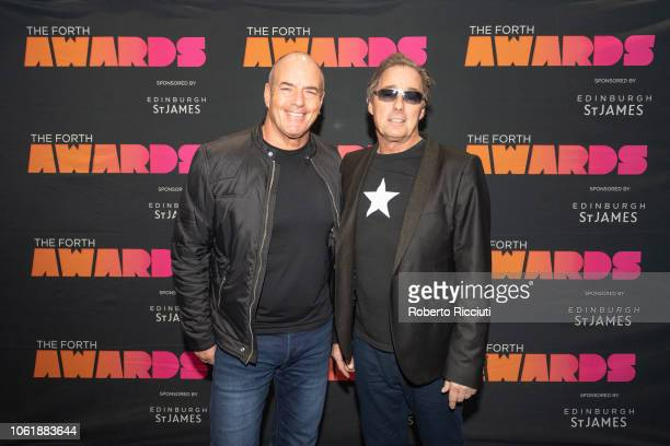 Peter Cox and Richard Drummie of Go West attend 'Radio Forth Awards 2018' at Usher Hall on November 15 2018 in Edinburgh Scotland