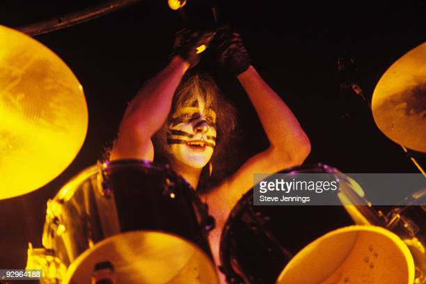 Peter Criss of Kiss in San Francisco 1979