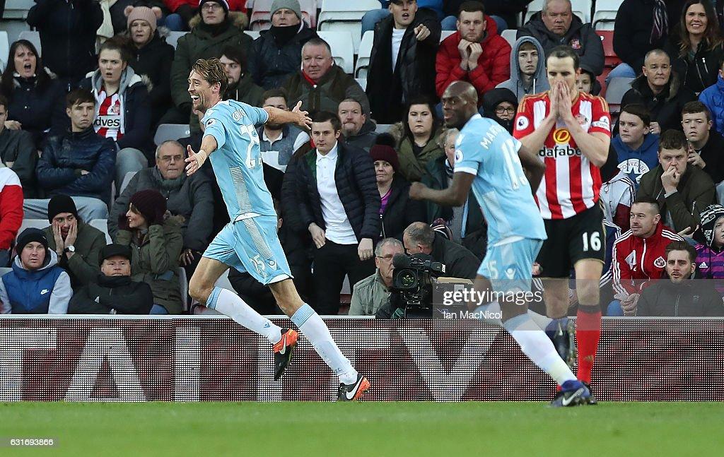 Sunderland v Stoke City - Premier League : News Photo