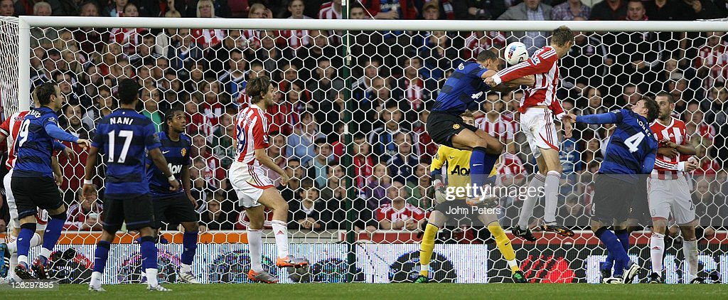 Stoke City v Manchester United - Premier League : News Photo