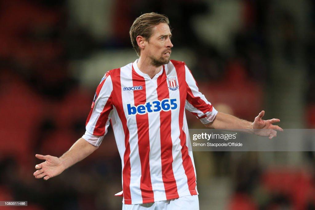 Stoke City v Shrewsbury Town - FA Cup Third Round Replay : News Photo