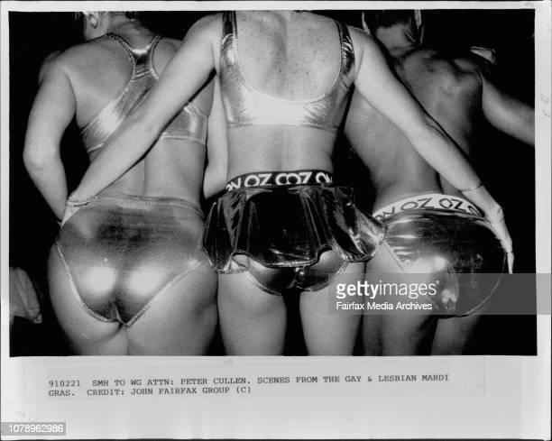 Peter Cullen. Scenes from the Gay & Lesbian Mardi Gras.Gay Mardi Gras in Sydney. February 17, 1990. .