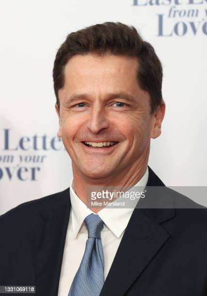 """Peter Czermin attends """"The Last Letter From Your Lover"""" UK premiere at Ham Yard Hotel on July 27, 2021 in London, England."""