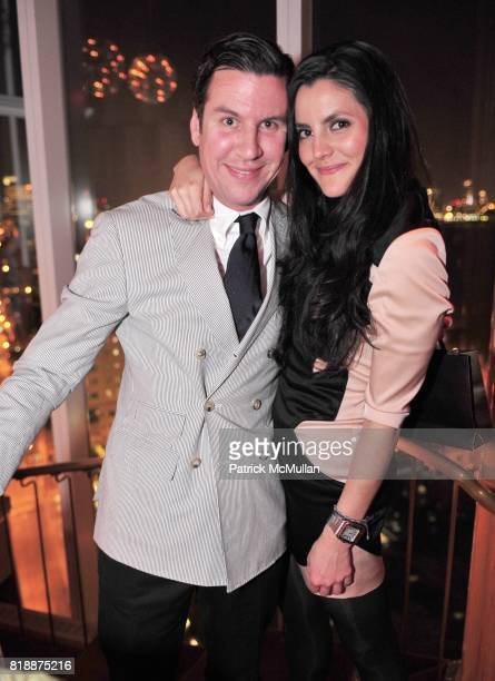 Peter Davis and Eugenia Gonzalez attend NOWNESS Presents the New York Premiere of JeanMichel Basquiat The Radiant Child at MoMa on April 27 2010 in...