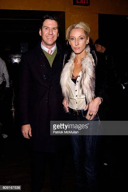 Peter Davis and Jackie Astier attend MARC JACOBS Fall 2007 Collection AFTER PARTY at Eugene on February 5 2007 in New York City
