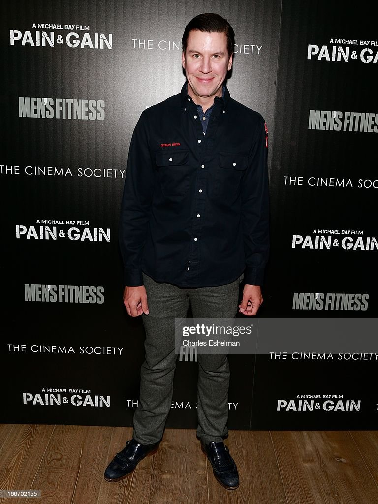 "The Cinema Society And Men's Fitness Host A Screening Of ""Pain And Gain"""