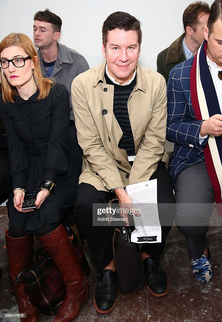 Timo Weiland - Front Row - New York Fashion Week Men's Fall/Winter 2016