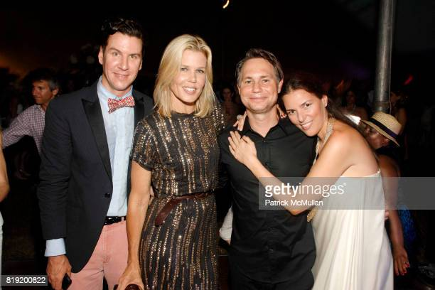 Peter Davis Mary Alice Stephenson Jason Binn and Ann Caruso attend 11th Annual Love Heals at Luna Farm 'A Picture Perfect Summer' Presented by Sony...