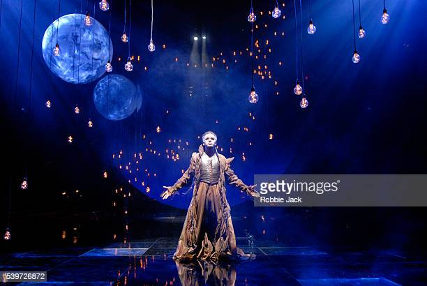 Peter de Jersey performs in the Royal Shakespeare's production of William Shakespeare's play A Midsummer Night's Dream at the Courtyard Theatre...