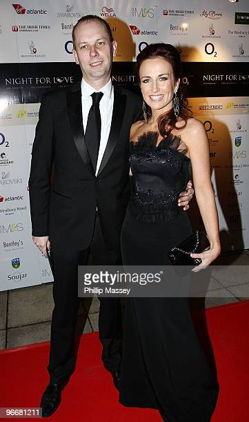 Peter Devlin and Lorraine Keane attend the Night For Love Charity Ball in aid of The Samuel L Jackson Foundation and Irish Autism Action on February...