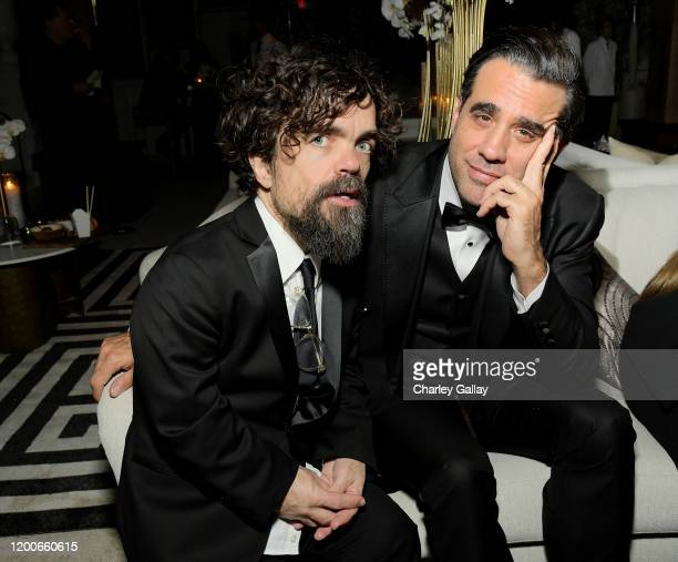 Peter Dinklage and Bobby Cannavale attend 2020 Netflix SAG After Party at Sunset Tower on January 19 2020 in Los Angeles California