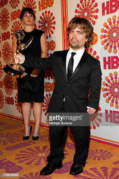 Peter Dinklage arrives at HBO's Annual Emmy Awards Post Award Reception Arrivals on September 18 2011 in Los Angeles California