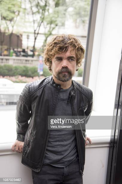 """Peter Dinklage at the """"My Dinner with Herve"""" Press Conference at the Andaz Hotel on September 20, 2018 in New York City."""