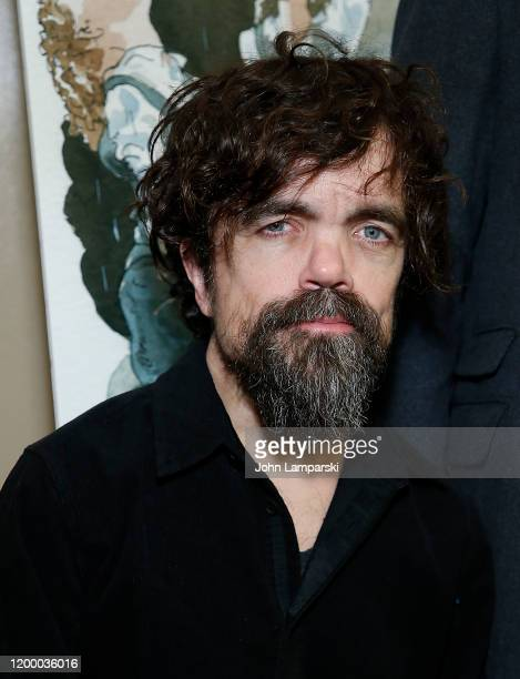 """Peter Dinklage attends Hunter Theater Project's """"Mac Beth"""" opening night celebration on January 16, 2020 in New York City."""