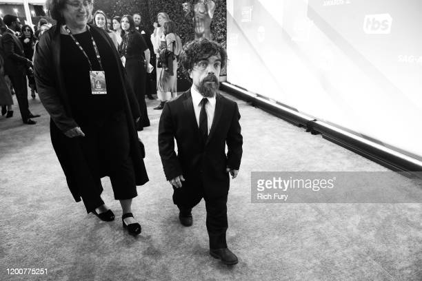 Peter Dinklage attends the 26th Annual Screen Actors Guild Awards at The Shrine Auditorium on January 19 2020 in Los Angeles California