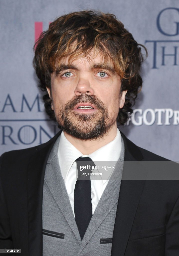 Peter Dinklage attends the 'Game Of Thrones' Season 4 premiere at Avery Fisher Hall, Lincoln Center on March 18, 2014 in New York City.