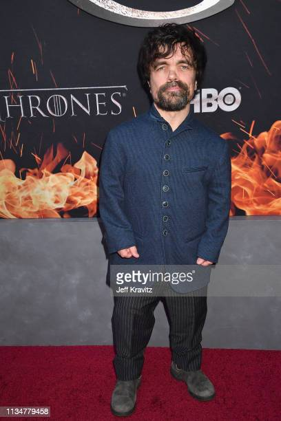 """Peter Dinklage attends the """"Game Of Thrones"""" Season 8 NY Premiere on April 3, 2019 in New York City."""