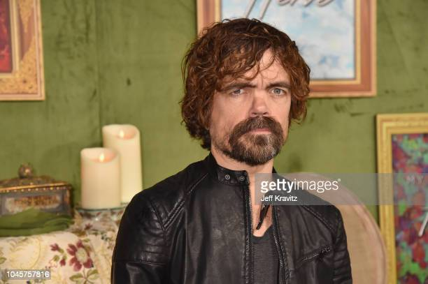 Peter Dinklage attends the Los Angeles Premiere Of HBO Films MY DINNER WITH HERVE at Paramount Studios on October 4, 2018 in Hollywood, California.