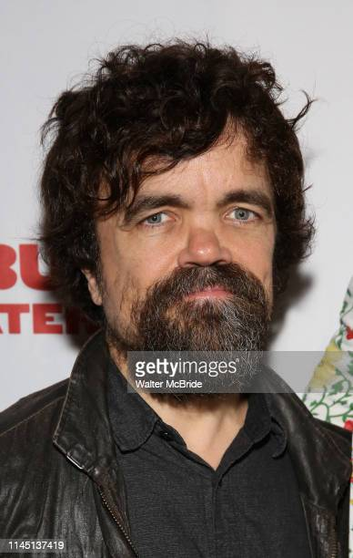 """Peter Dinklage attends the Opening Night Party for Red Bull Theater's All-Female """"Macbeth"""" at Houston Hall on May 19, 2019 in New York City."""