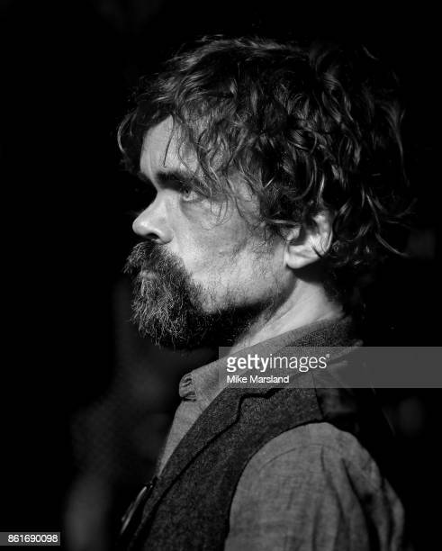 Peter Dinklage attends the UK Premiere of 'Three Billboards Outside Ebbing Missouri' at the closing night gala of the 61st BFI London Film Festival...