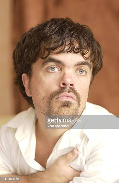 Peter Dinklage during 'The Station Agent' Press Conference with Peter Dinklage Bobby Cannavale and Tom McCarthy at Four Seasons Hotel in Beverly...