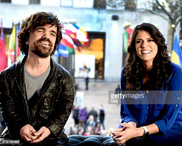 LIVE 'Peter Dinklage' Episode 1699 Pictured Peter Dinklage and Cecily Strong on March 29 2016