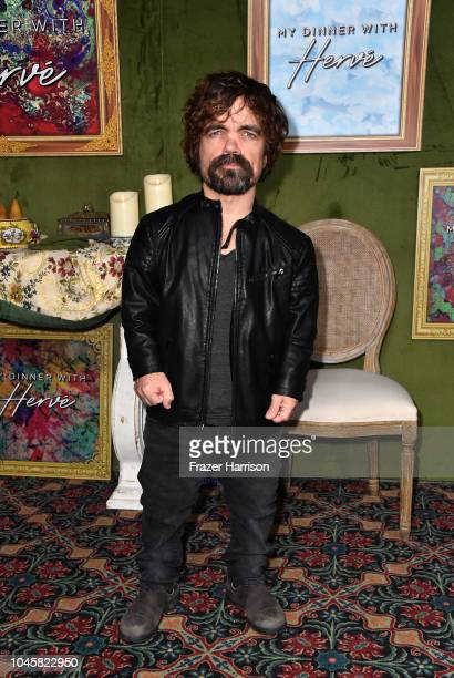 """Peter Dinkledge attends the HBO Films' """"My Dinner With Herve"""" Premiere at Paramount Studios on October 4, 2018 in Hollywood, California."""