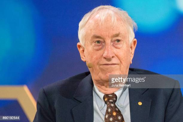 Peter Doherty 1996 Laureate of the Nobel Prize in Physiology or Medicine speaks at 'Nobel Week Dialogue the Future of Truth' conference at at Svenska...