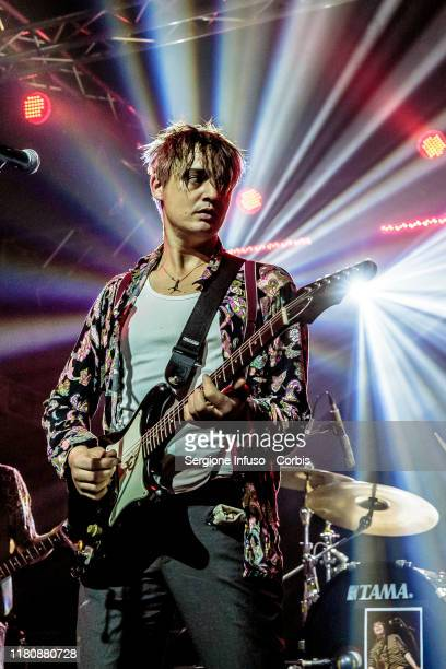 Peter Doherty performs with the The Puta Madres at Magazzini Generali on October 13, 2019 in Milan, Italy.