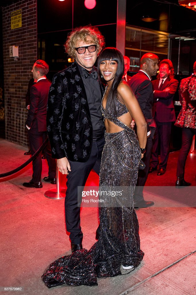 Peter Dundas and Naomi Campbell attends the after Party at the Standard Hotel following 'Manus x Machina: Fashion In An Age Of Technology' Costume Institute Gala on May 2, 2016 in New York City.