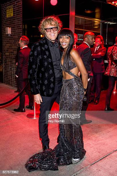 Peter Dundas and Naomi Campbell attends the after Party at the Standard Hotel following Manus x Machina Fashion In An Age Of Technology Costume...